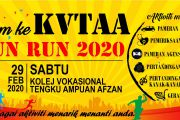 ATURCARA DAN ROUTE KVTAA FUN RUN 2020
